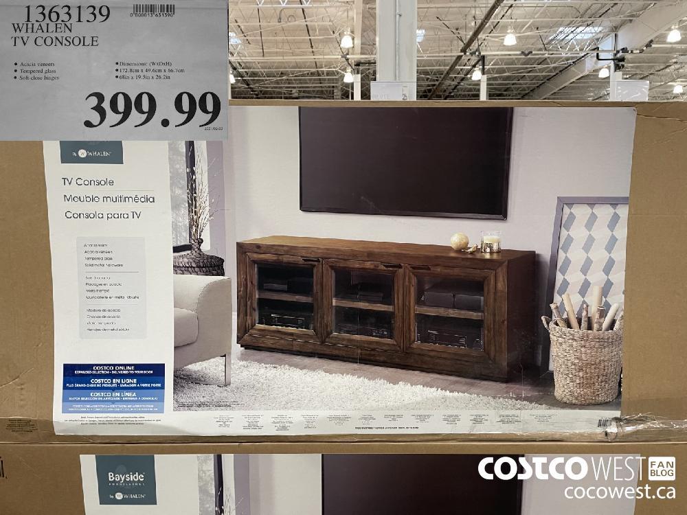 1363139 WHALEN TV CONSOLE $399.99