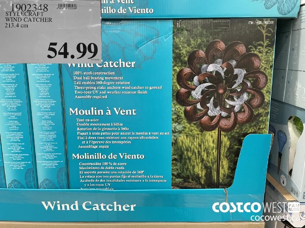 1902343 STYLECRAFT WIND CATCHER 213.4 cm $54.99