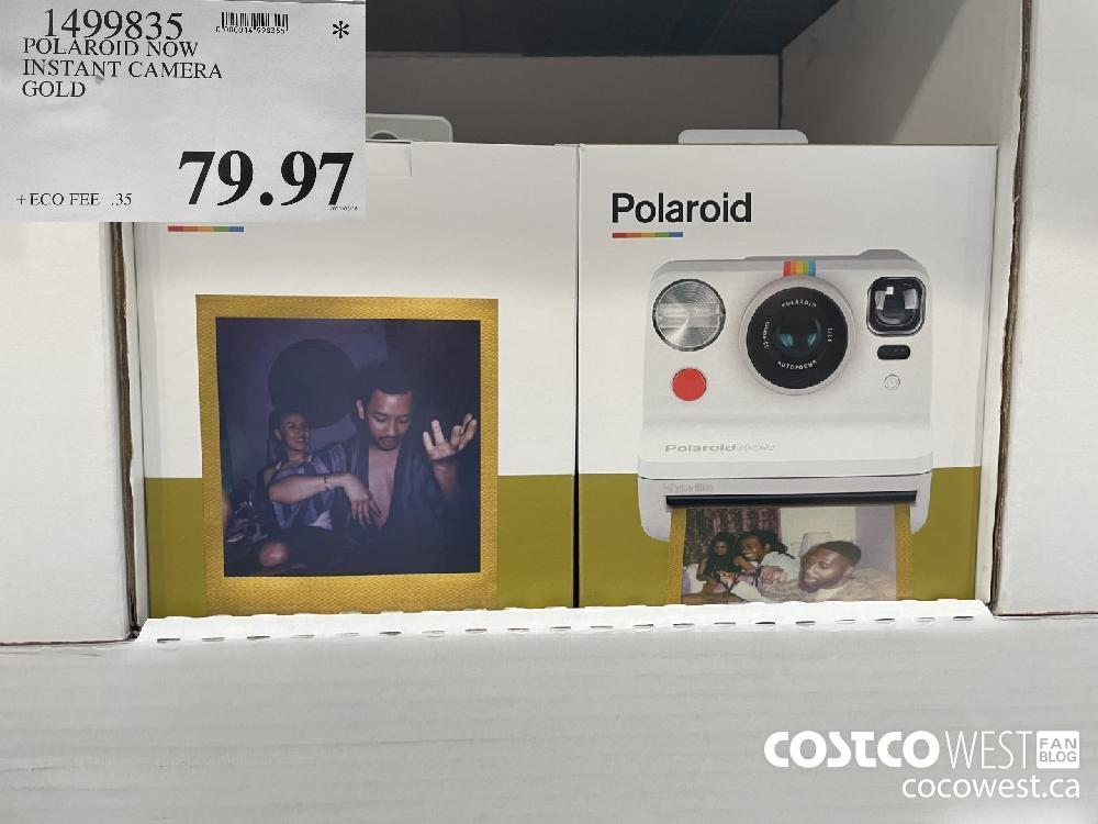 1499835 POLAROID NOW INSTANT CAMERA GOLD $79.97
