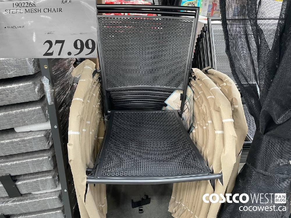 1902268 STEEL MESH CHAIR $27.99