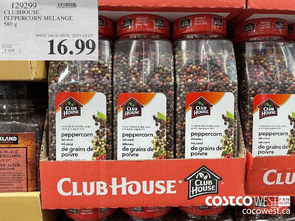 129299 CLUBHOUSE PEPPERCORN MELANGE 580 g $16.99