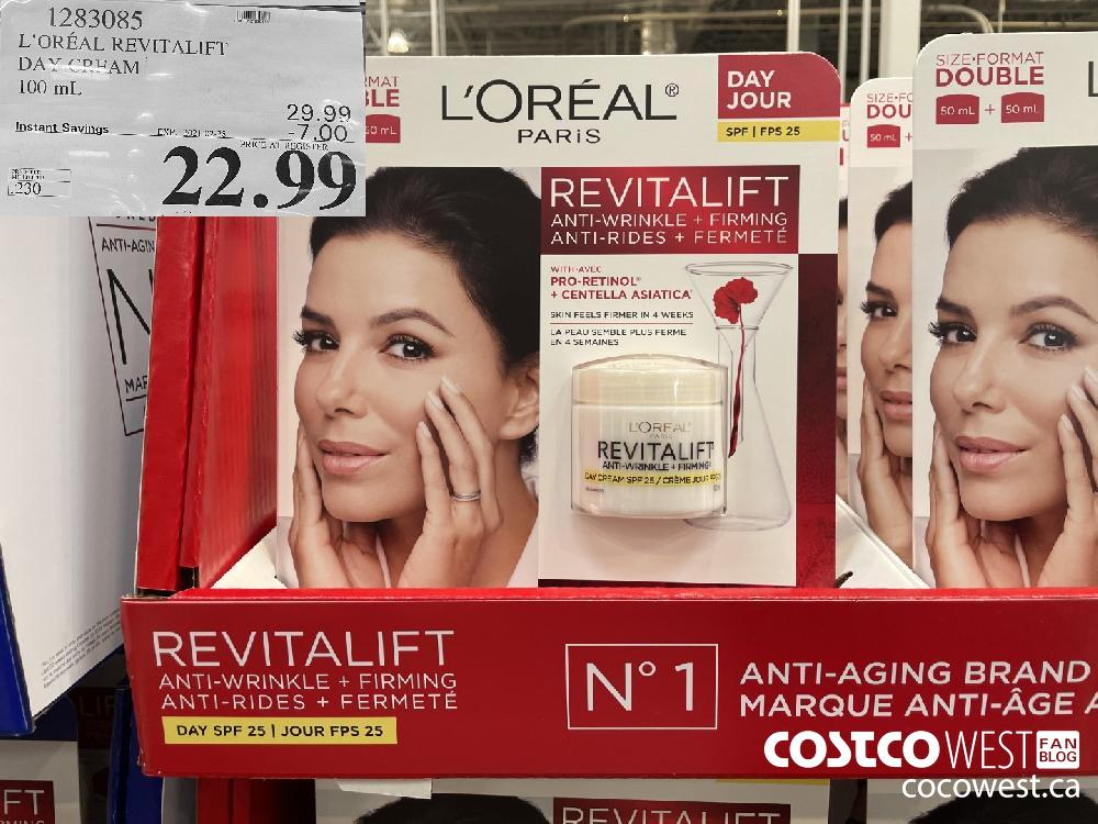 1283085 L'OREAL REVITALIFT DAY CPEAM 100 mL EXPIRY DATE: 2021-02-28 $22.99