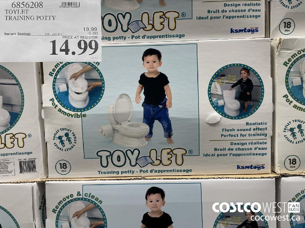 6856208 TOYLET TRAINING POTTY EXPIRY DATE: 2021-03-07 $14.99