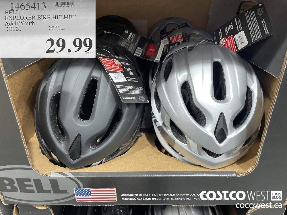 1465413 BELL EXPIRY DATE:LORER BIKE HELMET Adult/ Youth $29.99