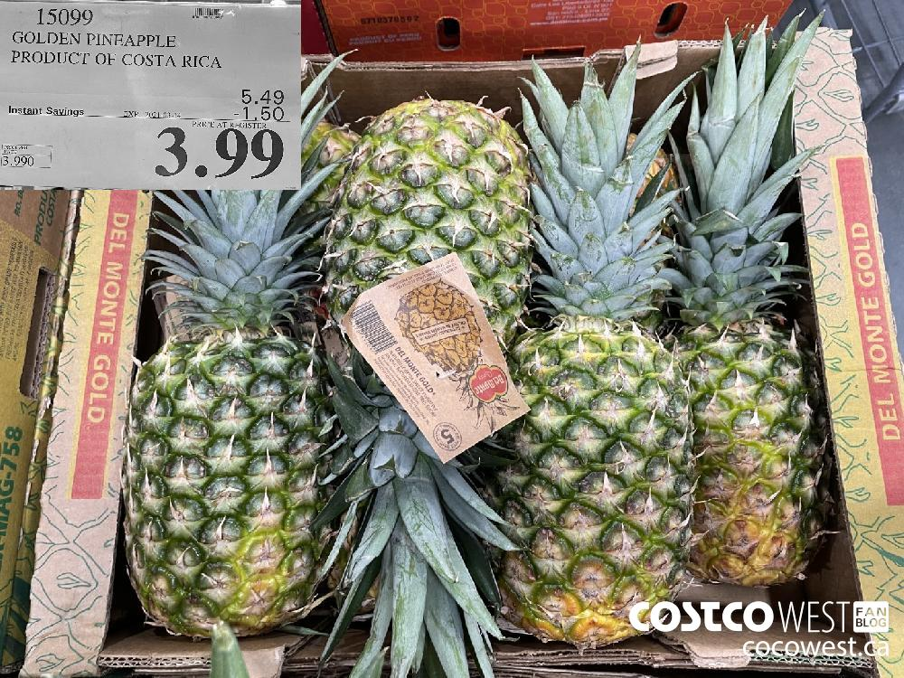 15099 GOLDEN PINEAPPLE PRODUCT OF COSTA RICA EXPIRY DATE: 2021-03-14 $3.99