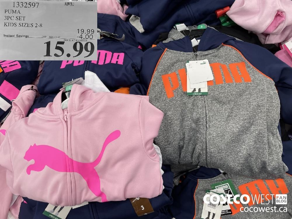 1332597 PUMA 3PC SET KIDS SIZES 2-8 EXPIRY DATE: 2021-03-07 $15.99