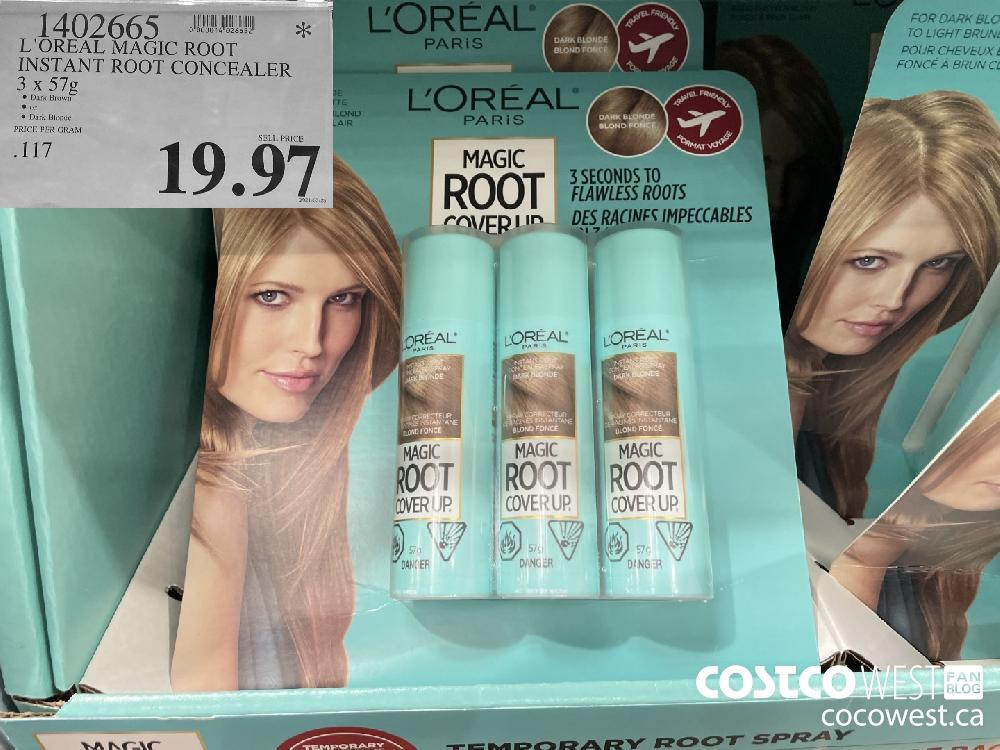1402665 L'OREAL MAGIC ROOT INSTANT ROOT CONCEALER 3 x 57g $19.97
