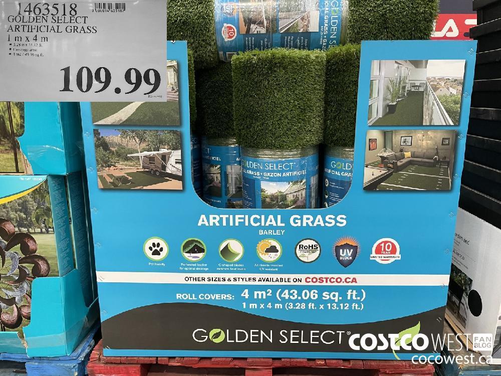 1463518 GOLDEN SELECT ARTIFICIAL GRASS 1 m x 4 m $109.99