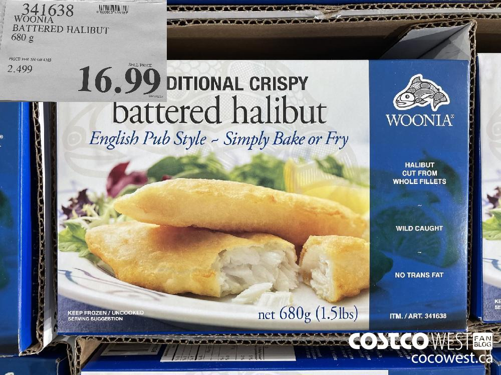 341638WOONIABATTERED HALIBUT680 g$16.99