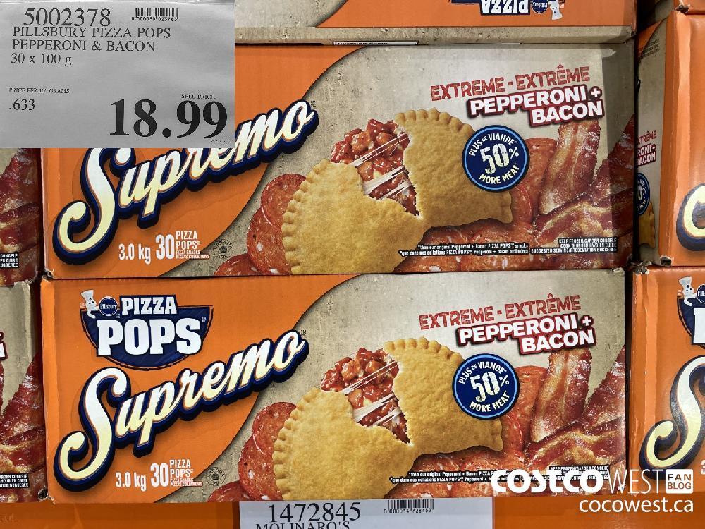 5002378 PILSBURY PIZZA POPS PEPPERONI