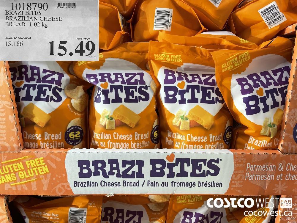 1018790 BRAZI BITES BRAZILIAN CHEESE BREAD 1.02 kg $15.49
