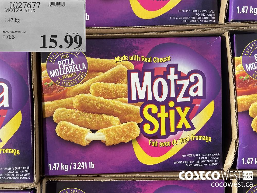 1027677 MOTZA STIX 1.47 kg $15.99