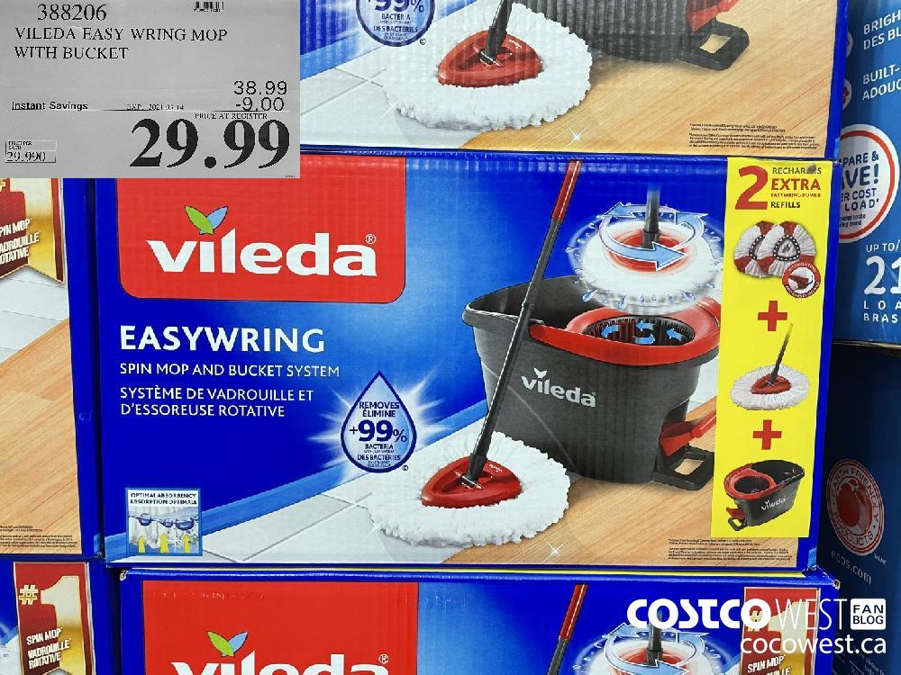 388206 VILEDA EASY WRING MOP WITH BUCKET EXPIRY DATE: 2021-03-14 $29.99