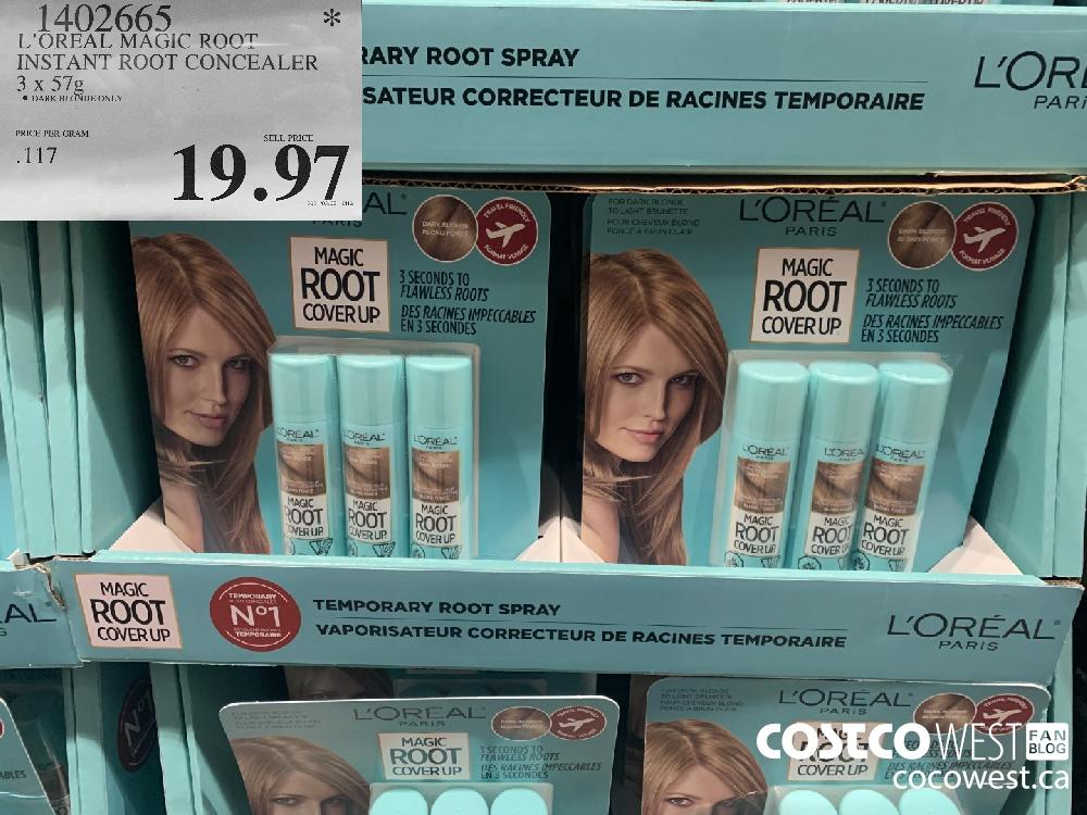 1402665 L'OREAL MAGIC ROOT INSTANT ROOT CONCEALER 3 x 57 g $19.97