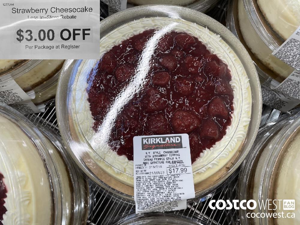 1277264Strawberry CheesecakeLess In-Store Rebate$3.00 OFFPer Package at Register