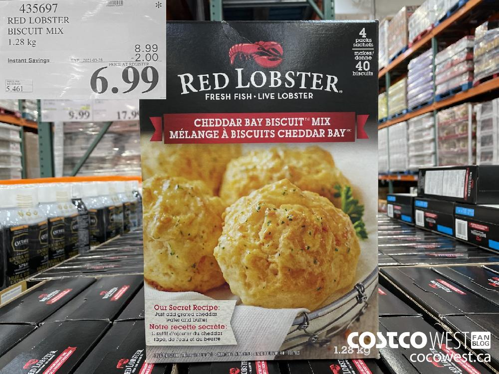 435697 RED LOBSTER BISCUIT MIX 1.28 kg EXPIRY DATE: 2021-03-28 $6.99