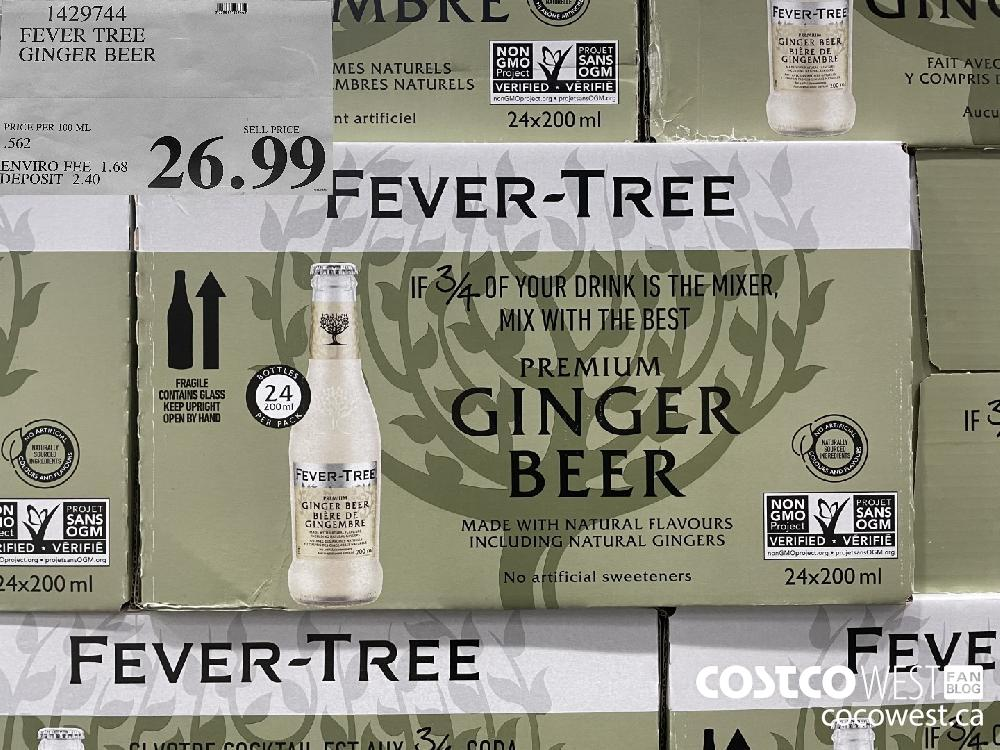 1429744 FEVER TREE GINGER BEER $26.99