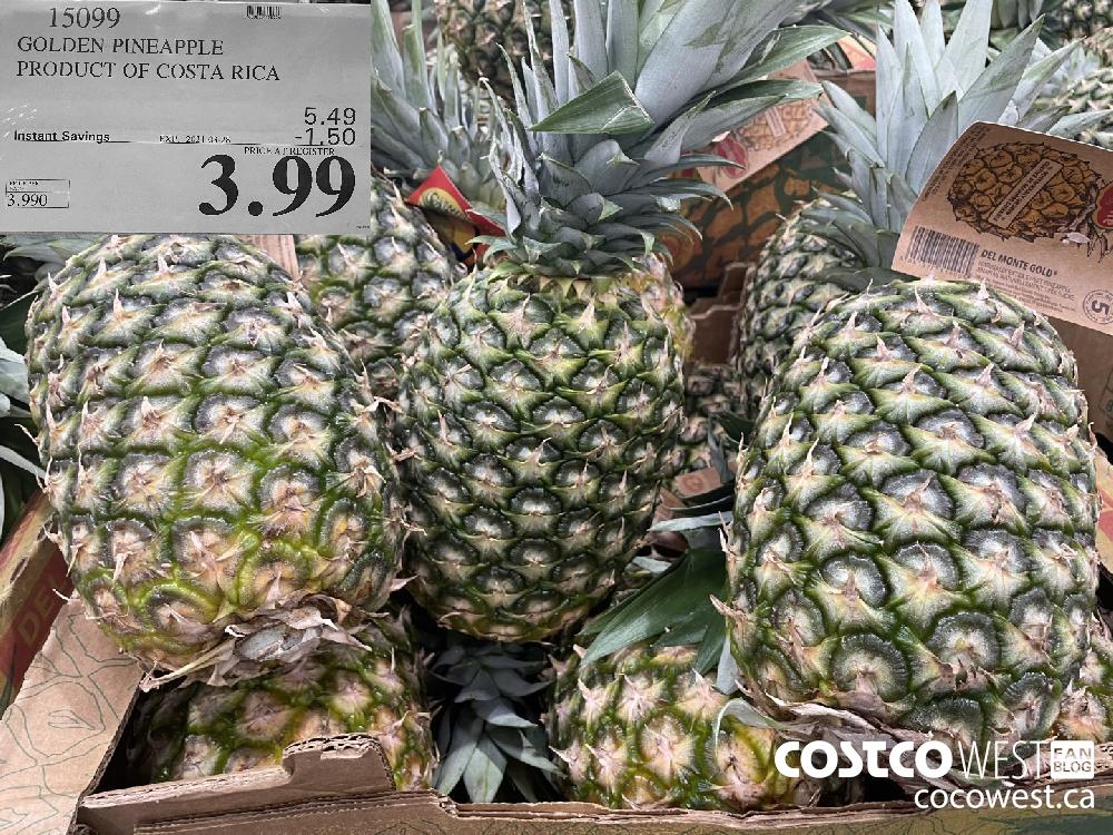 15099 GOLDEN PINEAPPLE PRODUCT OF COSTA RICA EXPIRY DATE: 2021-03-28 $3.99