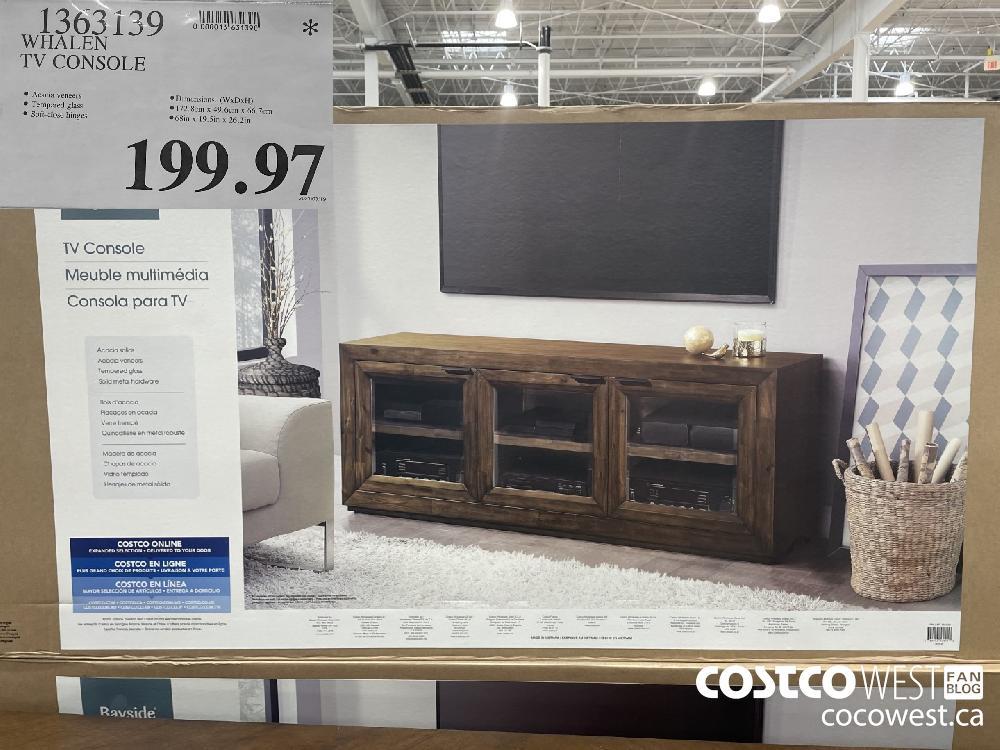 1363139 WHALEN TV CONSOLE $199.97