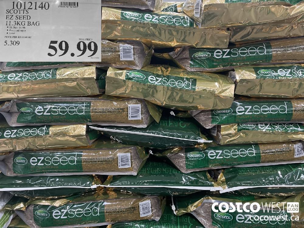 1012140 SCOTTS EZ SEED 11.3KG BAG $59.99
