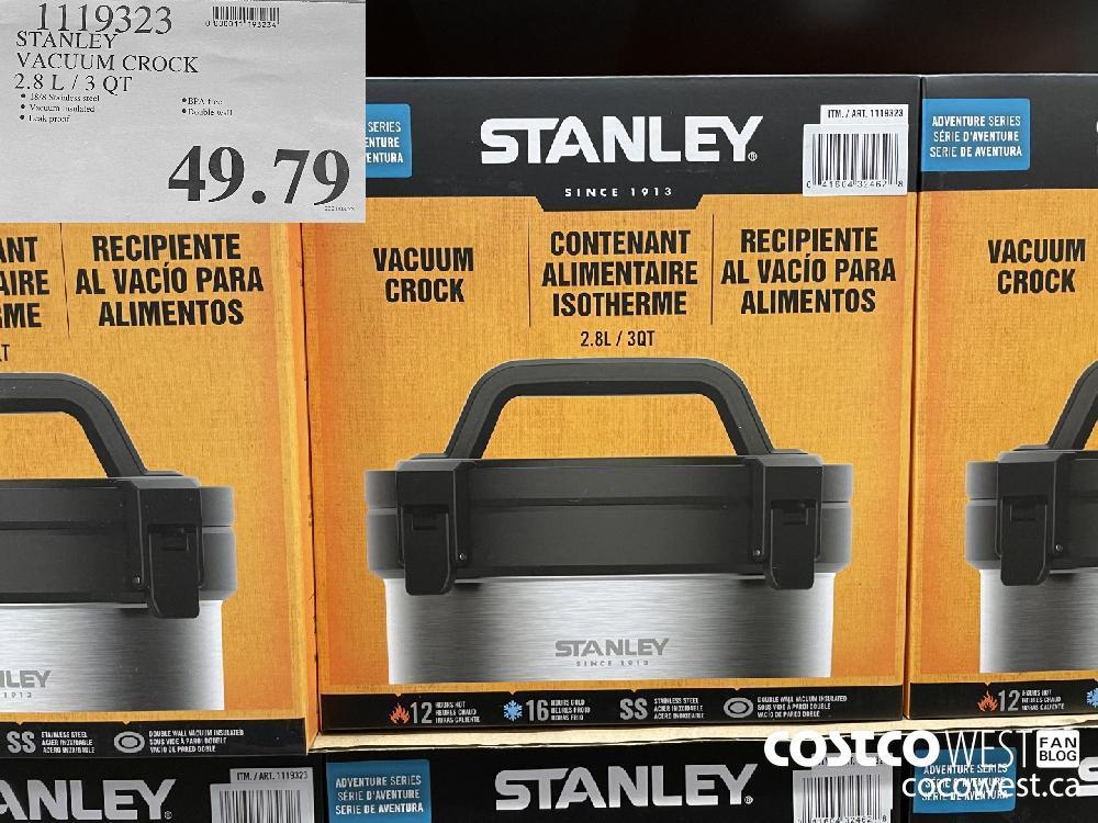 1119323 STANLEY VACUUM CROCK 2.8L /3 QT $49.79