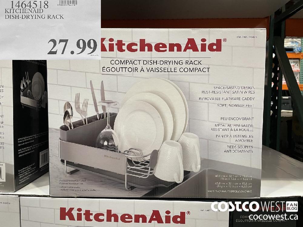 1464518 KITCHENAID DISH-DRYING RACK $27.99