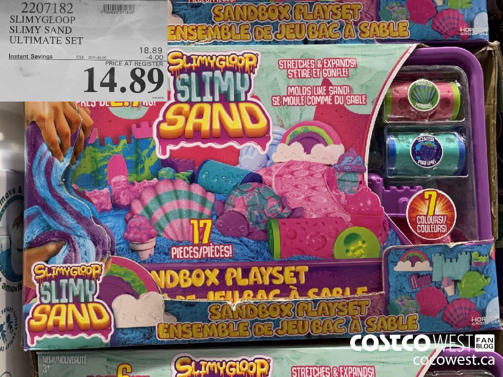 2207182 SLIMYGLOOP SLIMY SAND ULTIMATE SET EXPIRY DATE: 2021-04-03 $14.89