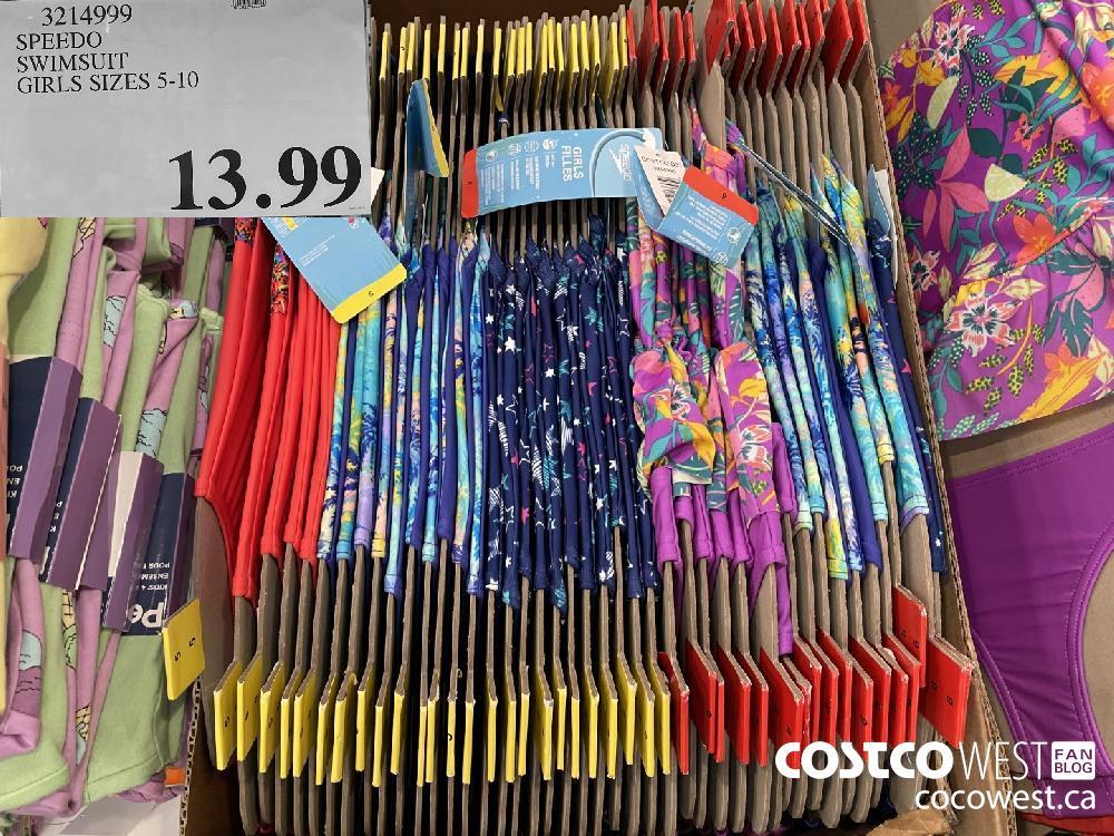3214999 SPEEDO SWIMSUIT GIRLS SIZES 5-10 $13.99