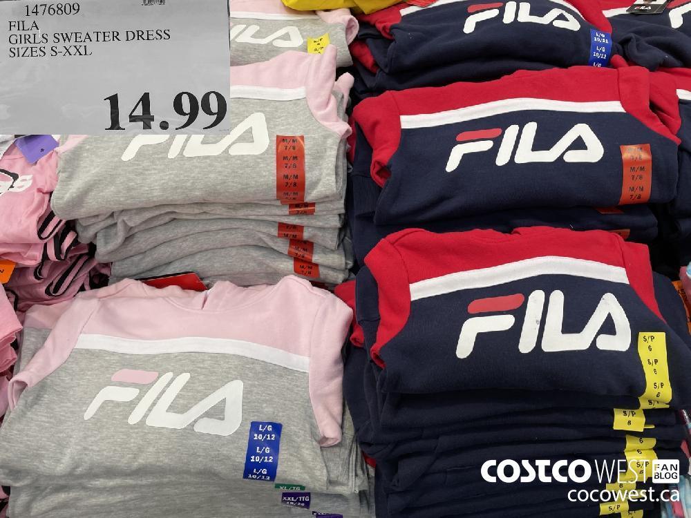 476809 FILA GIRLS SWEATER DRESS SIZES S-XXL $14.99