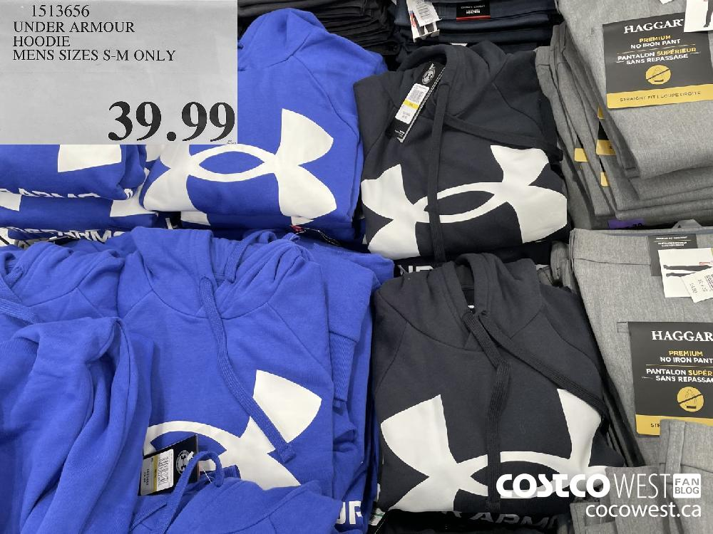 1513656 UNDER ARMOUR HOODIE MENS SIZES S-M ONLY $39.99