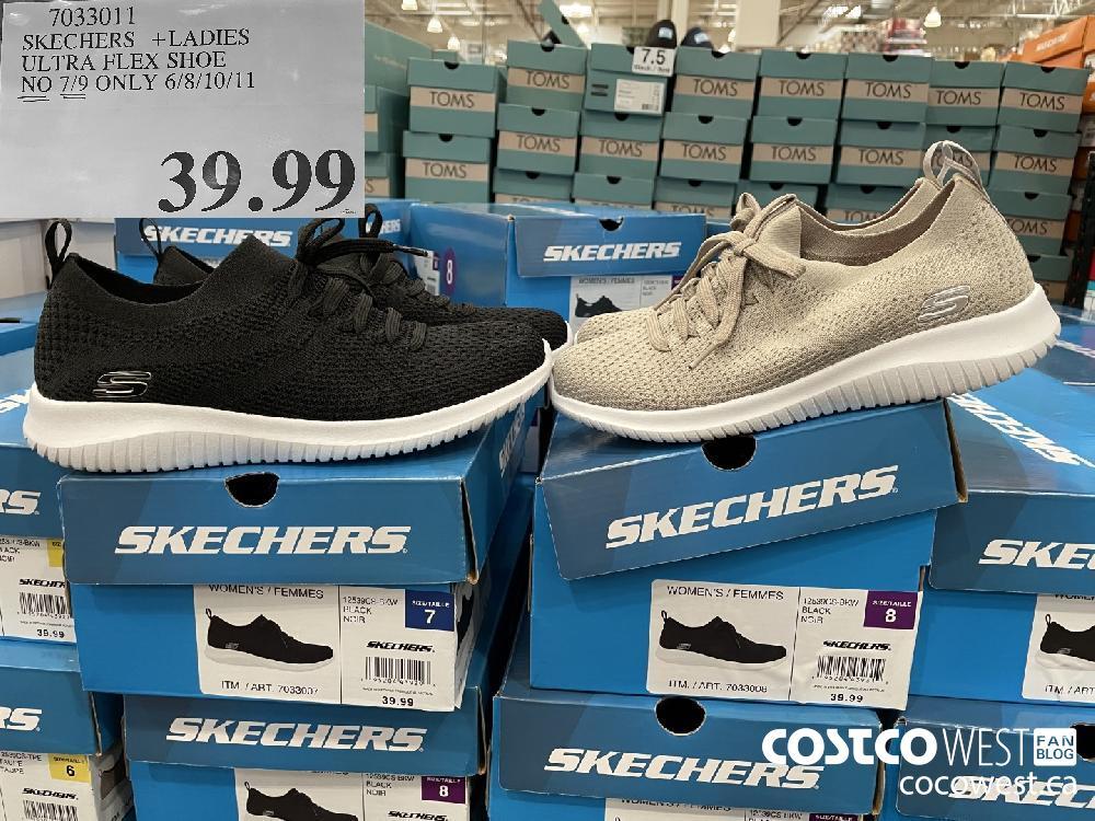 7033011 SKECHERS LADIES ULTRA FLEX SHOE NO 7/9 ONLY 6/8/10/11 $39.99
