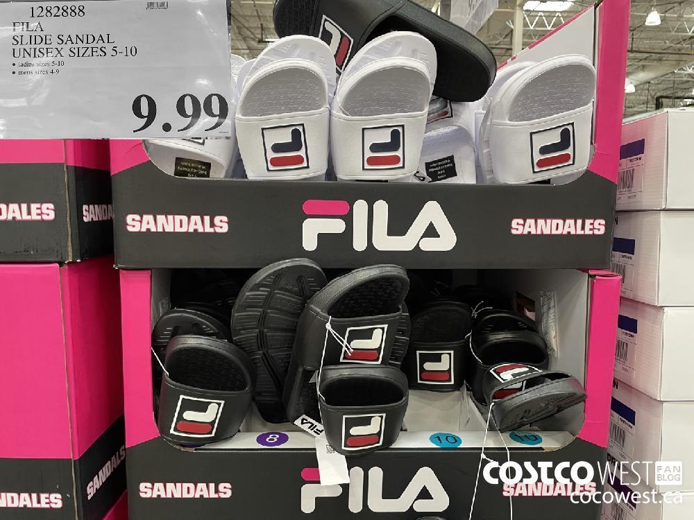 FILA SLIDE SANDAL UNISEX SIZES 5-10 $9.99