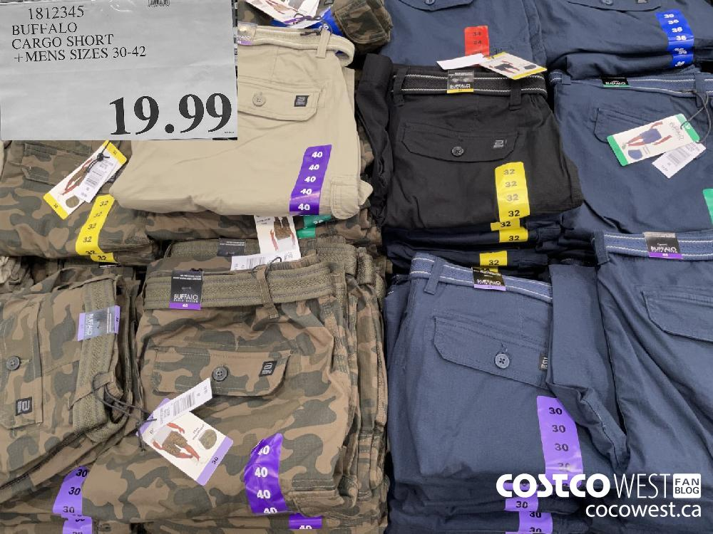 1812345 BUFFALO CARGO SHORT MENS SIZES 30-42 $19.99