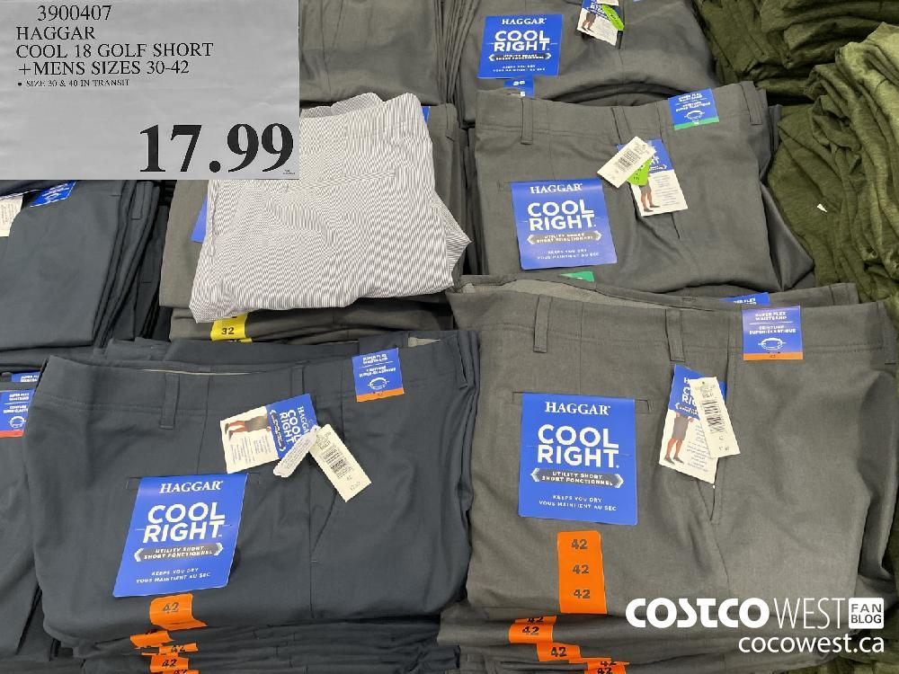 3900407 HAGGAR COOL 18 GOLF SHORT MENS SIZES 30-42 $17.99