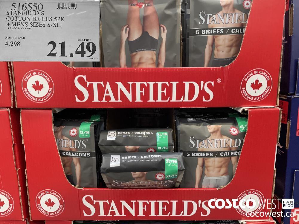 516550 STANFIELD'S COTTON BRIEFS 5PK MENS SIZES S-XL $21.49