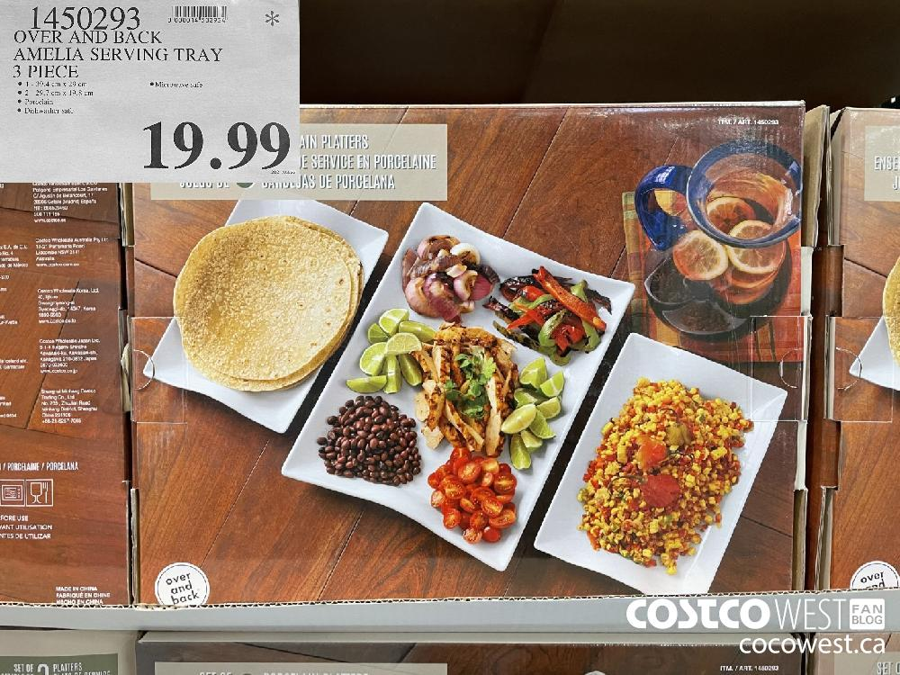 1450293 OVER AND BACK AMELIA SERVING TRAY 3 PIECE $19.99