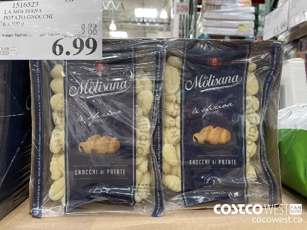 1516523 LA MOLISANA POTATO GNOCCHI 6 x 500 g EXPIRY DATE: 2021-04-04 $6.99