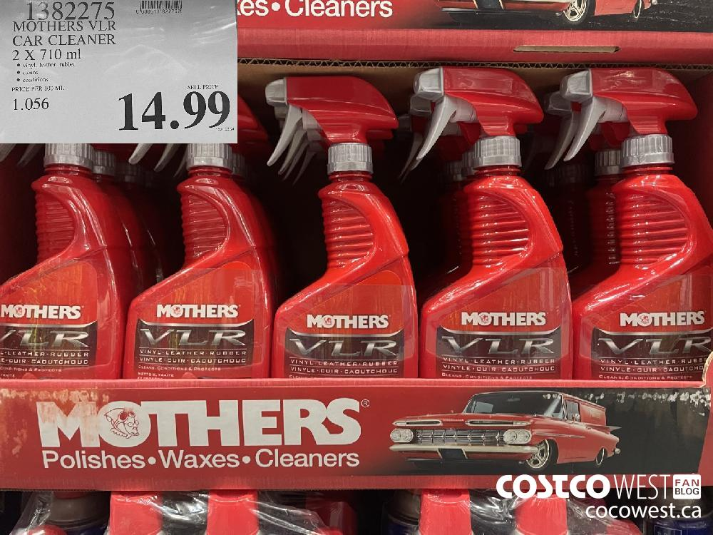 1382075 MOTHERS VLR CAR CLEANER 2 X 710 ml $14.99