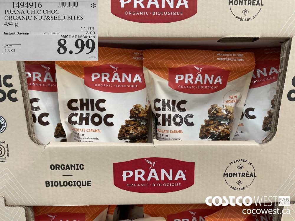 1494916 PRANA CHIC CHOC ORGANIC NUT
